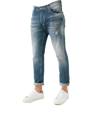 Five Pocket Five Pocket Erkek Kot Pantolon 7290-U887 7290-U887-BARTEZ002 Mavi
